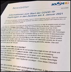 KVSH-Newsletter